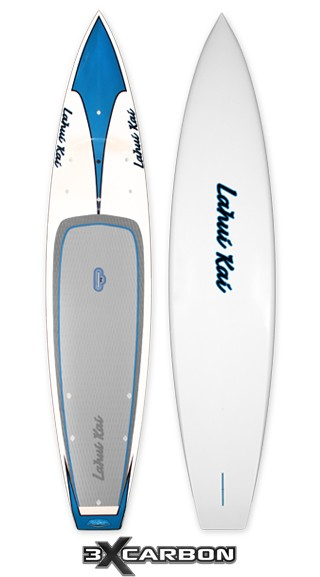 "Lahui Kai Paddleboard | Model: Szymanski Triple Carbon Tour | Size: 12'6"" x 30"" 