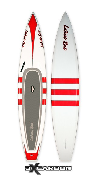 "Lahui Kai Paddleboard | Model: Manta 3X Carbon | Size: 12'6"" x 28"" 
