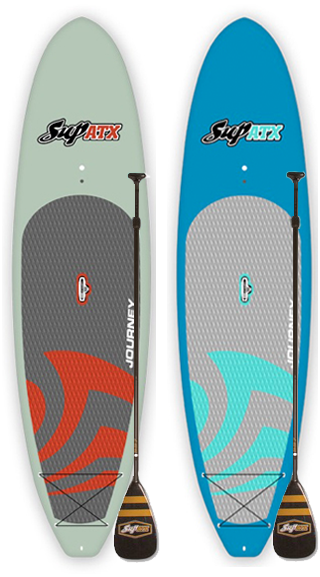 TWO Board + 2 Paddle Special Deal! | Model: Journey | Length: 10'6"