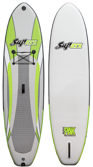 SUP ATX Paddleboard | Model: Inflatable iSUP PAK | Length: 10'6"
