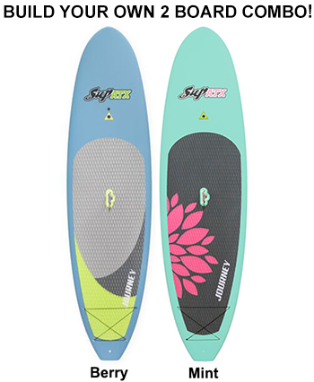 JOURNEY Paddleboard 2-Board Package | 2 Boards & 2 Paddles | Length: 10'6"