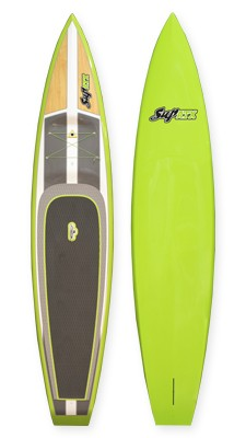 SUP ATX Paddleboard  | Model: Tour | Color: Green | Length: 12'6"