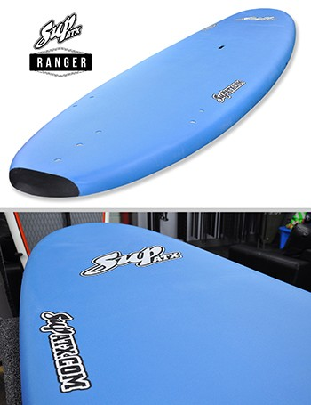 SUP ATX Soft Beginner Paddleboard | Model: Ranger | Length: 11' | Color: Blue | FREE SHIPPING!