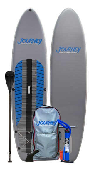 JOURNEY iSUP PAK w/ Travel Paddle | Model: Inflatable iSUP PAK | Length: 10'10"