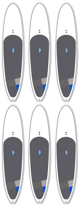 Wholesale 6-pack | EPS BYOB Paddleboard | Model: Blank Private Label | Length: 11'6 | FREE SHIPPING!