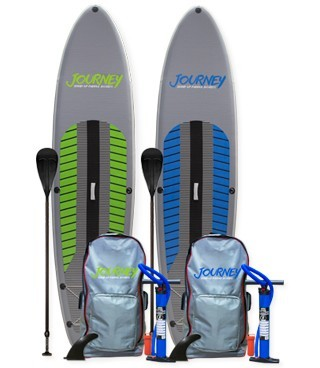 TWO Board iSUP + TWO Paddle Deal! | JOURNEY Inflatable iSUP PAK | Length: 10'10"