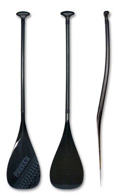 PUAKEA Carbon Fiber Outrigger Paddle | Shaft: Double Bend | FREE SHIPPING!