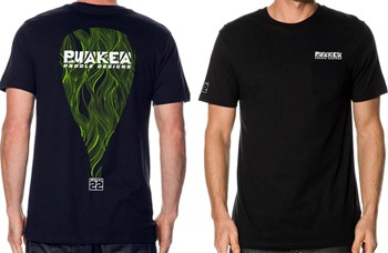 Puakea Pocket T-Shirt - Black - FREE SHIPPING!
