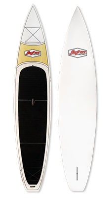SUP ATX Paddleboard | Model: Rebel | Color: Matte White | Length: 12'6"