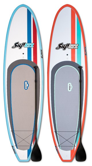 TWO Board + TWO Paddle SUP ATX Special Deal   Model: Scout   Length: 10'   Color: Coral and Mint Blue   FREE SHIPPING!