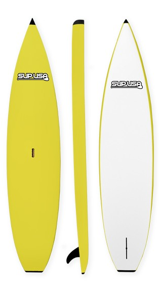 SUP USA Soft Kids Paddleboard | Model: Rocket | Color: Yellow | Length: 9'6"