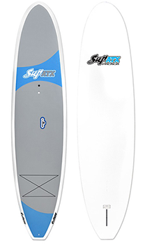 SUP ATX Paddleboard | Model: Adventure Premium | Color: Blue/Grey | FREE SHIPPING!