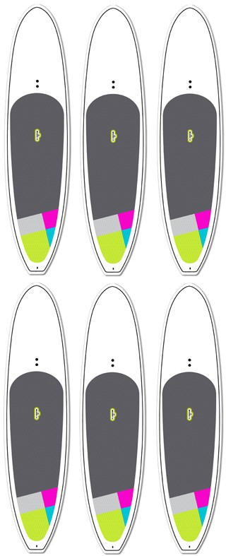 6 Blank Board Wholesale Deal! | Model: Private Label (6-pack) | Length: 10'6 | FREE SHIPPING!