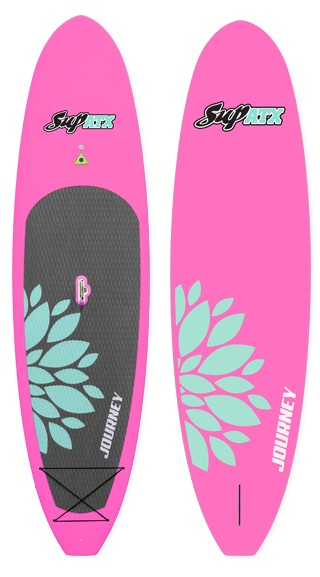 JOURNEY Paddleboard | Color: Bubblegum | Length: 10'6"