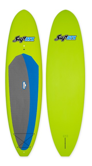 SUP ATX Journey Paddleboard | Color: Lime | Length: 10'6