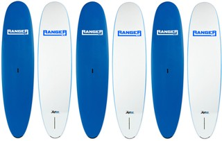 Wholesale 6-pack | SUP ATX Soft Beginner Paddleboards | Model: Ranger | Length: 11' | Color: Blue | FREE SHIPPING!